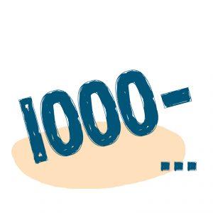 от 1000 ₽