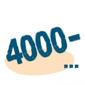 от 4000 ₽
