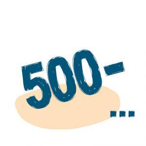 от 500 ₽